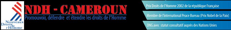 Nouveaux Droits de l'Homme Cameroun